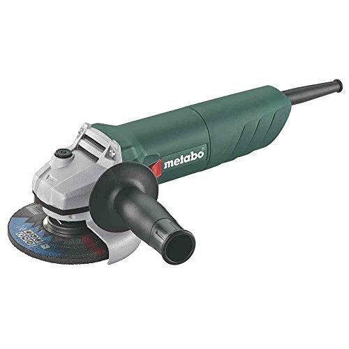 Metabo METAAW750125 Amoladora Angular, 1 W, 18 V, Negro, Verde, Gris