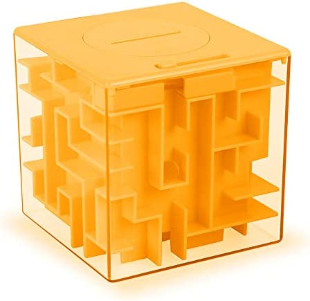 ThinkMax Money Maze Puzzle Box Gift Perfect Puzzle Money Holder Funny and Cool Brain Teasers product image