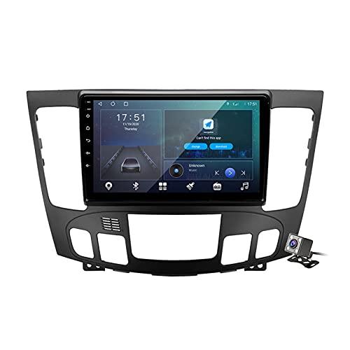 Buladala Android 9.1 GPS Navigation Stereo Radio para Hyundai Sonata NF 2008-2010, 9' Pantalla Coche Media Player Soporte Carpaly Android Auto/5G FM RDS/Control Volante/BT Hands-Free,Auto,M500S