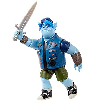 Disney Pixar Onward: Barley Character Action Figue [Amazon Exclusive] Realistic Movie Toy Brother Doll for Storytelling, Display and Collecting for Ages 3 and Up