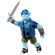 Disney Pixar Onward Core Figure Barley Character Action Figure Realistic Movie Toy Brother Doll for Storytelling, Display and Collecting for Ages 3 and Up