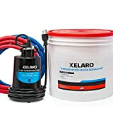 ***Kit requires 2 gallons of white vinegar*** Not included. Some tankless manufacturers recommend using vinegar or another cleanser for flushing their equipment. Can also save money if you have vinegar at home already. Helps maintain the performance ...