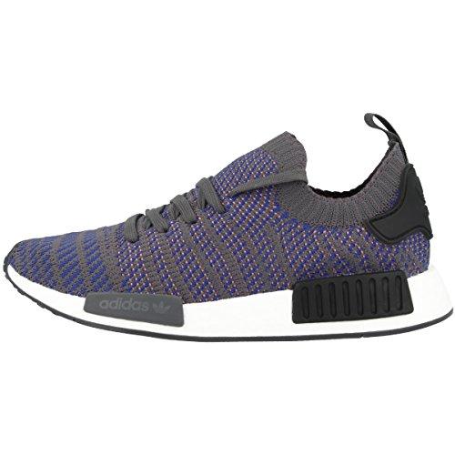adidas Herren NMD_R1 STLT Primeknit Sneaker, Blau (Hi-Res Blue 0), 42 EU