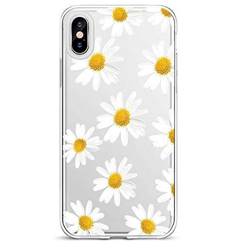 Lajer Hülle Schutzhülle für Apple iPhone XS Max XS XR X Handyhülle Ultra Dünn Transparent Flexibel Weich TPU Silikon Stoßfest mit süßes Motiv Crystal Handytasche Clear Case Cover (iPhone XS, Farbe-4)