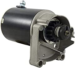 New STARTER MOTOR FITS BRIGGS & STRATTON 14 16 18 HP STARTER 497596 V TWIN WITH FREE GEAR/Cub Cadet 582 580 1604 1605 1606 1610 /John Deere 116 /Toro 216-5 Tractor /393017, Compatible with 394674