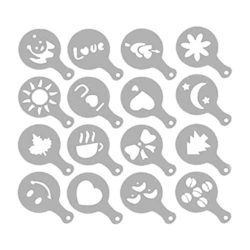 SALA Store Bread Stencils (Set of 16) - Perfect for Decorating & Baking Bread Loaves, Cakes, Pies or Cookies