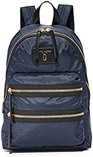Marc Jacobs Women's Nylon Biker Backpack, Midnight, Blue, One Size