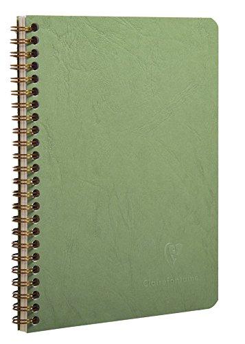 Clairefontaine 789993C - Libreta de direcciones Age Bag A5, 180pág, Verde