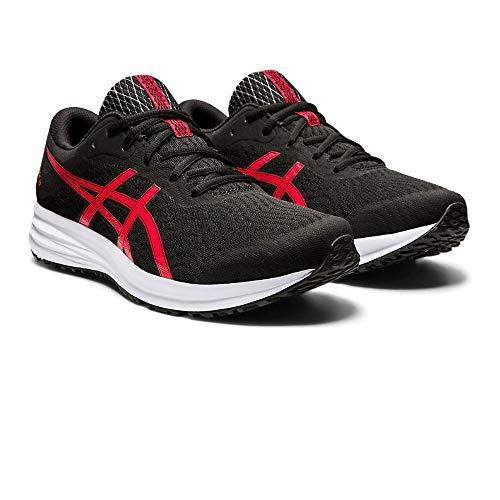Asics Patriot 12, Sneaker Mens, Black/Classic Red, 40.5 EU