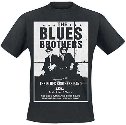 Blues Brothers Poster T-Shirt Noir S