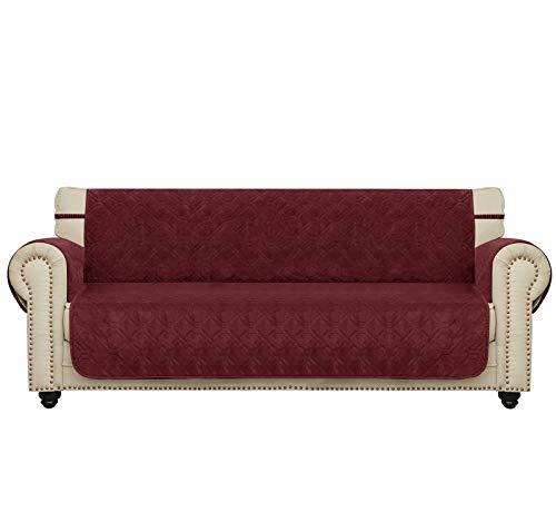 Ameritex - Funda de sofá de Terciopelo para Mascotas, Suave y cómoda