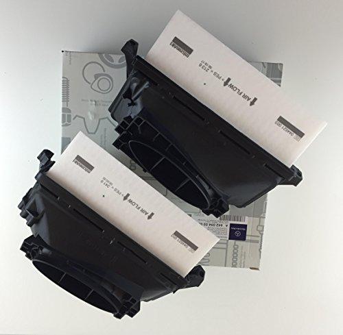 2 x Luftfilter/Set Original Mercedes A 642 094 00 00 Mercedes CDI - bitte Zuordnung beachten