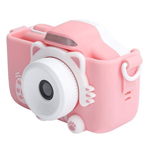 Cámara para niños, cámara de video con flash LED Smart Focus Wifi para regalos de cumpleaños de niños