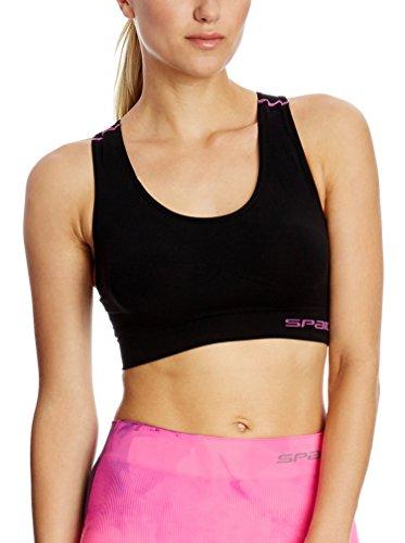 SPAIO Fitness Top Femmes, Noir, L/XL
