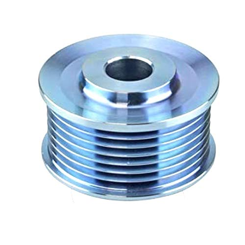 021041-4231//24-82107 24-82257 Compatible with 5-Grooves 24-82257-5 New Pulley 0.59 // 15mm ID 31141-PT0-J01 021041-6280 Denso // 31141-PH1-004 2.67 // 67.7mm OD