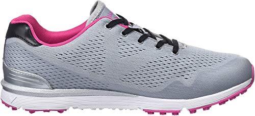 Callaway Damen Solaire Lightweight Breathable Spikeless Golfschuhe, Grau (Grey Grey), 37 EU