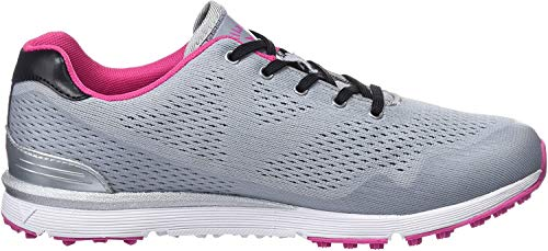 Callaway Damen Solaire Lightweight Breathable Spikeless Golfschuhe, Grau (Grey Grey), 36.5 EU
