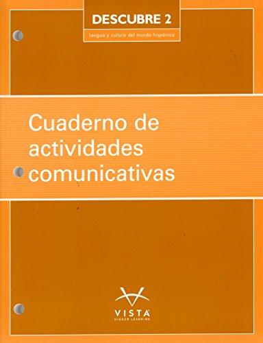 Descubre 2017 L2 Cuaderno de actividades comunicativas