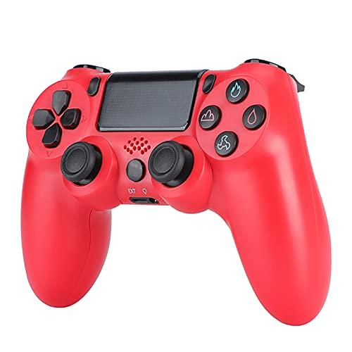 FSDFSD PS4 Mando Inalámbrico Vibración Doble Gaming con Controlador Táctil de Alta Precisión para Playstation 4/PS4 Pro/Slim/PC