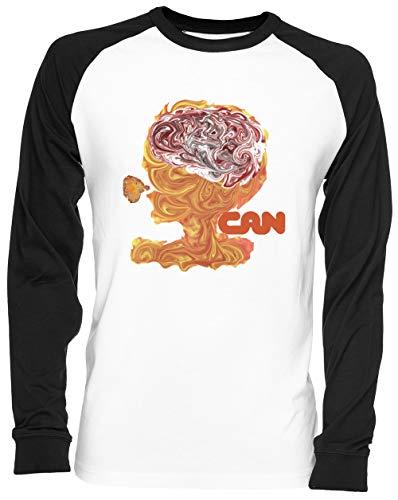 Can - TAGO Mago Blance Camiseta De Béisbol Unisex White Baseball tee Tshirt Unisex
