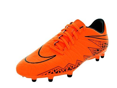Nike Hypervenom Phelon II FG - Scarpe da calcio da uomo, colore: Arancione/Nero