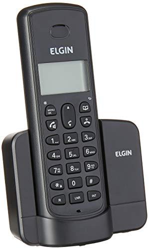 Telefone Sem Fio Elgin Com Identificador Tsf8001 Preto, Elgin, Tsf8001P, Preto