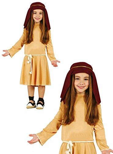 Hebräisch Schäferin-Kostüm für Mädchen