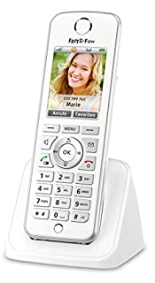 AVM FRITZ!Fon C4 Telefon (Farbdisplay, beleuchtete Tastatur) weiß, deutschsprachige Version (B00H90PS92) | Amazon price tracker / tracking, Amazon price history charts, Amazon price watches, Amazon price drop alerts