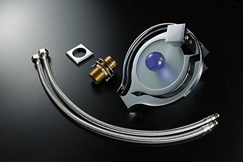 Lonfenner Led Farbtemperatur Wechselnde Warme Und Kalte Kupfer Wasserfall Bad Waschbecken Wasserhahn. Wasser Stromerzeugung - 9