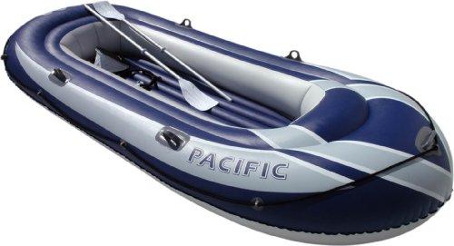 Simex Sport Kit de Kayak, Bootset Pacific 270, Blau/Grau, 45125, Azul/Gris,...