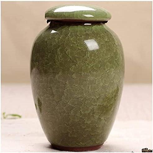 HGSDKECFS Mini Cremation Popular popular Urn Handmade A for Translated Urns Ceramic Pet