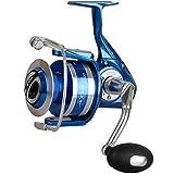 Okuma Azores S-4000 Rolle - 300m 0,25mm Schnurfassung, Spinnrolle, Angelrolle zum Spinnfischen &...