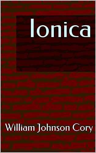 Ionica (English Edition)