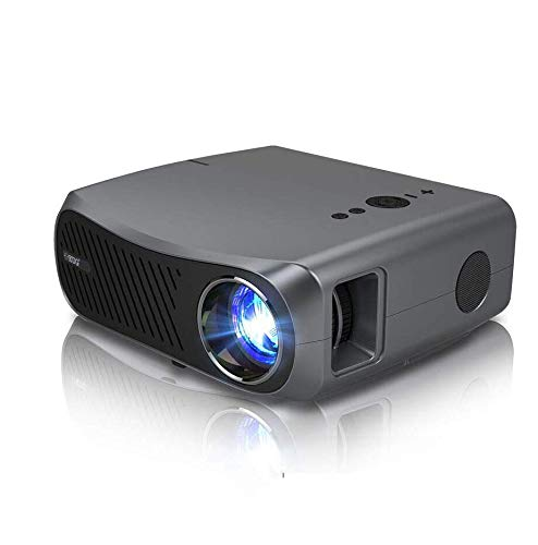 Full HD Projector, EUG 7200 Lumen LCD Native 1080P Movie Projectors 1920 x 1080 HDMI/VGA/USB/Audio LED Digital Video Projector for Gaming TV Stick Laptop DVD Home Entertainment Office PPT