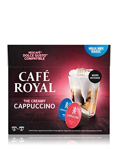 Café Royal Cappuccino 48 Nescafé®* Dolce Gusto®* kompatible Kaffeekapseln, 3er Pack (3 x 16 Kapseln)