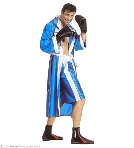 Widmann Déguisement Boxeur Bleu Taille : L