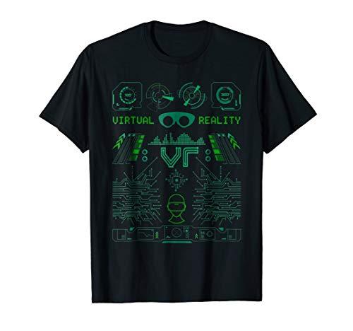 Virtual Reality VR Retro Gamers T Shirt