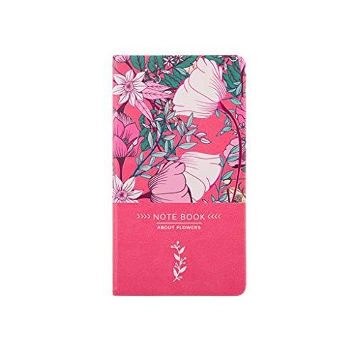 Anjing Hardcover Notebooks Notizblöcke A6 Creative Art Tagebuch-Buch-Universität Geburtstags-Briefpapier 2020 Handbook Kleiner Frisches Tragbarer Journal (Color : B)
