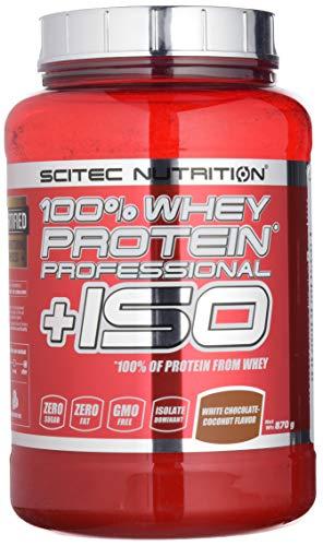 Scitec Nutrition Whey Protein Professional, Cocco al cioccolato bianco ISO, 870 g