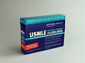 Kaplan Medical USMLE Physical Findings Flashcards: The 200 Questions You're Most Likely to See: For Steps 2 & 3: The 200 Questions You're Most Likely to See on the Exam