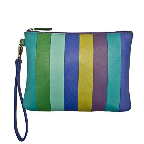 ili 6017 Dolce Linea pouch with detachable wrist strap (Cool Tropics)