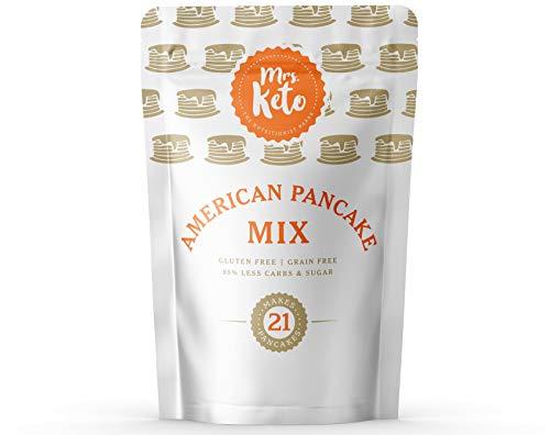 Mrs. Keto American Pancake Mix - Low Carb, High Protein, Sugar Free, Gluten...