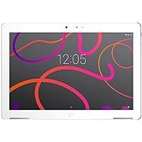 "BQ Aquaris M10 - Tablet 10.1"" (WiFi, MediaTek Quad Core MT8163B, 2 GB Memoria RAM, 32 GB Memoria Interna, Android 6.0); Blanco"