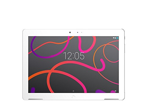 BQ Aquaris M10 - Tablet 10.1' (WiFi, MediaTek Quad Core MT8163B, 2 GB Memoria RAM, 32 GB Memoria Interna, Android 6.0); Blanco