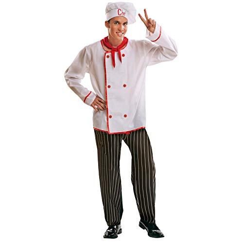 My Other Me-201008 Disfraz de cocinero para hombre, M-L (Viving Costumes 201008)