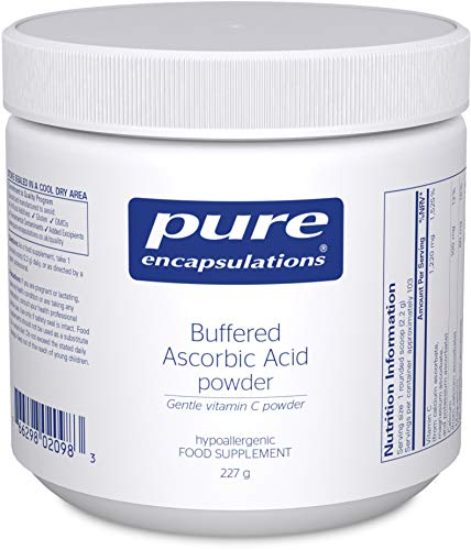 Pure Encapsulations - Buffered Ascorbic Acid Powder - Gentle Vitamin C - 227 Grams