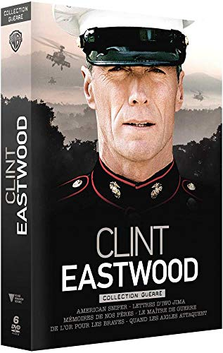 Clint Eastwood - Collection de Ses Plus Grands Films de Guerre - Coffret DVD