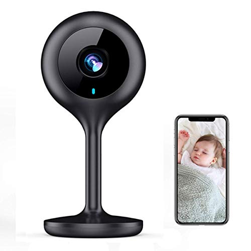 MECO WiFi IP Camera 1080P HD Home IP Security Nanny Camera with Night Vision, Sound & Motion Detection, Security Surveillance 2.4GHz Pet Baby Monitor - Cloud Service Available