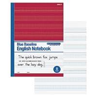 ブルーライン英語ノート 8段 146-738