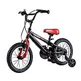 LIPENLI Infantil chico ciclista bicicleta de montaña 2-4-6 años de las muchachas Bicicletas Deportes al aire libre de la bici seguro y estable triciclo mejor regalo for los niños (Color: NEGRO, Tamaño